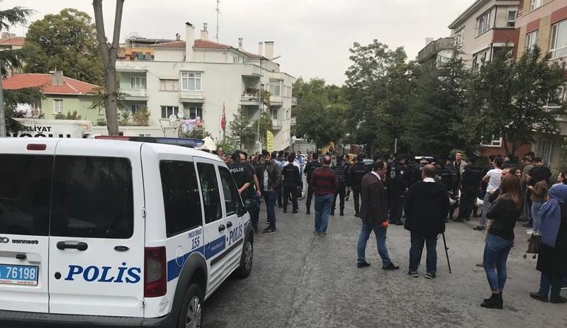 KHK'lılara Ankara'da polis engeli