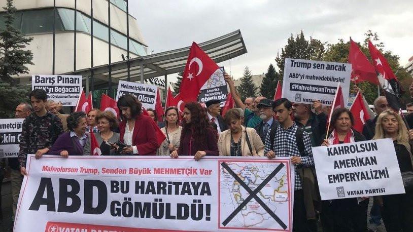 Vatan Partisi'nden Ankara'da ''ABD'' protestosu