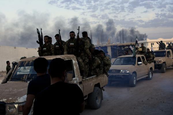 Milli Ordu askerleri harekat için Şanlıurfa'da