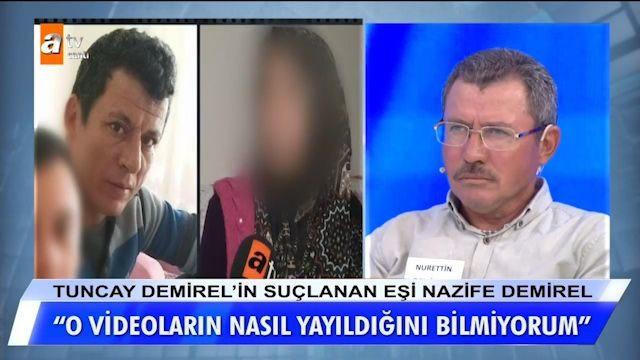 Uygunsuz videosu çıkan Nazife Demirel'in yasak aşkından itiraf