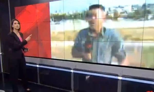 CNN Türk'ün canlı yayınında patlama !