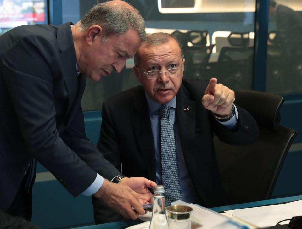 Cumhurbaşkanı Erdoğan harekatı böyle takip ediyor