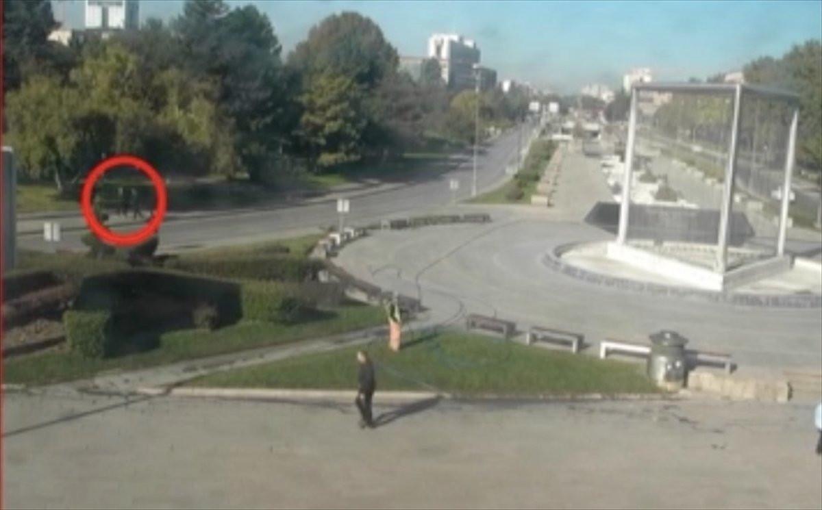 Ankara Garı önündeki terör saldırısının yeni görüntüleri ortaya