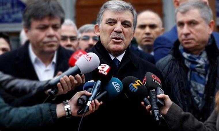 Abdullah Gül'den ''Barış Pınarı Harekatı'' açıklaması