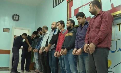 Afrin'de yargılanan DEAŞ'lı teröristler görüntülendi !