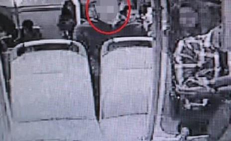 Halk otobüsünde iğrenç olay: 12 gündür aranıyordu