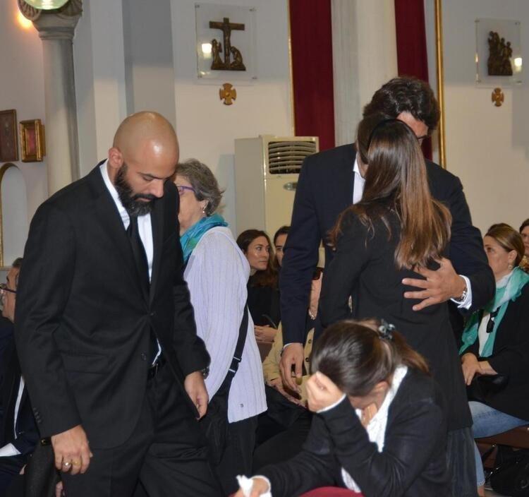 Edvina Sponza ile İbrahim Kutluay'dan barış yemeği