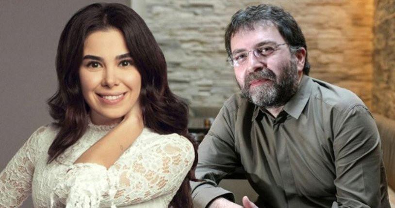Ahmet Hakan'ın 30 yaş küçük sevgilisini paylaşımlar ele verdi
