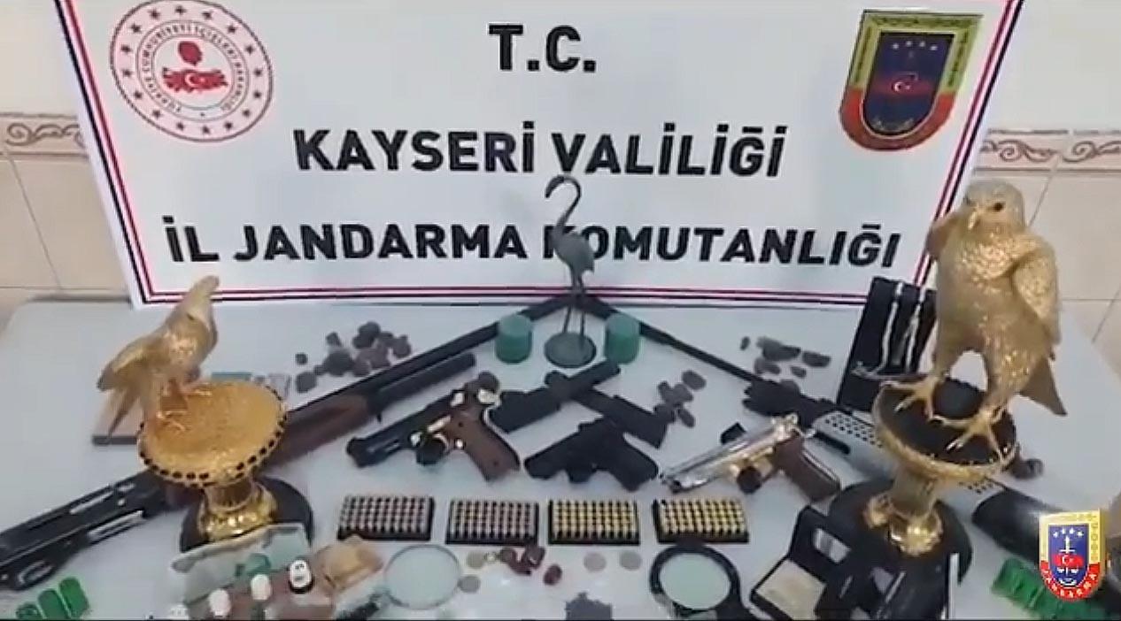 Değeri dudak uçuklatıyor ! Kayseri'de ele geçirildi