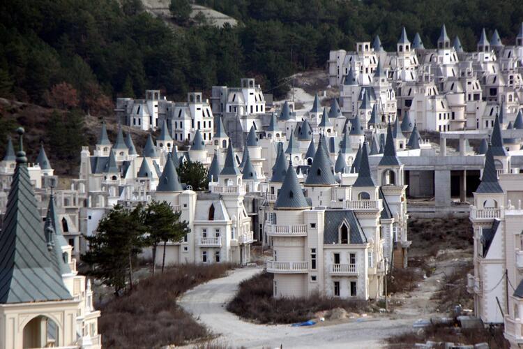 Mudurnu'daki şato tipi villalarla ilgili yeni gelişme