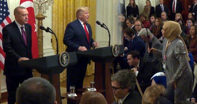 Sabah muhabiri Hilal Kaplan'dan, Trump'la diyaloğu sonrası ilk açıklama