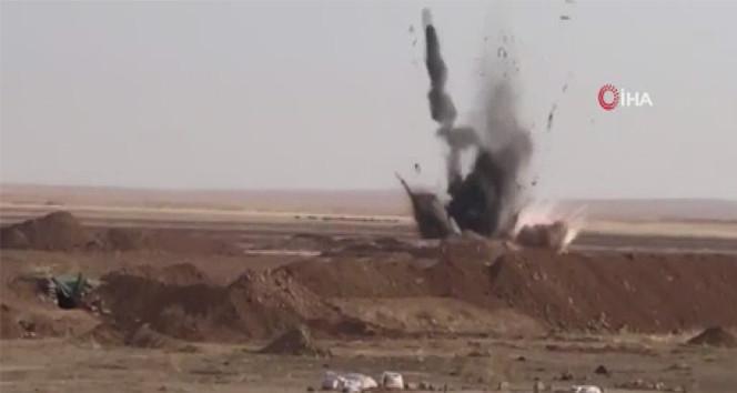 Mehmetçik, bombalı aracı böyle imha etti!