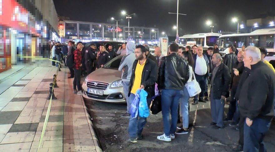 Otogarda silahlı saldırı: 1'i turist 3 yaralı !