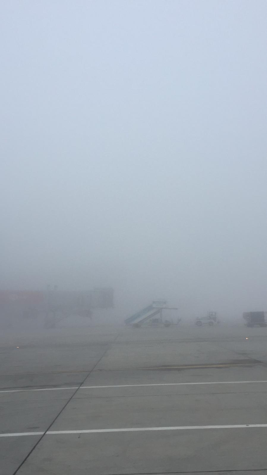 İstanbul Havalimanı'nı sis yuttu
