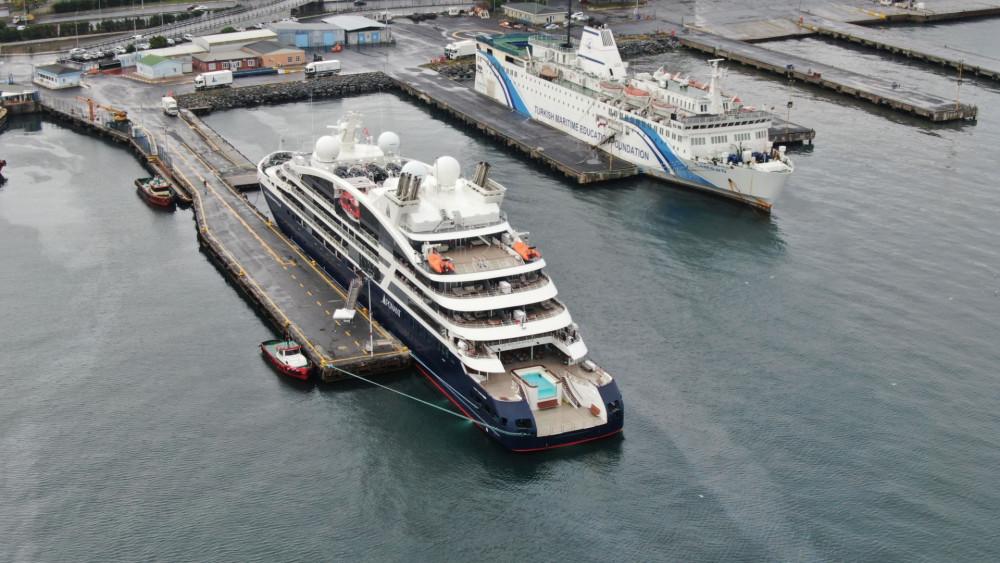 Lüks kruvaziyer İstanbul'da Zeyport Limanı'na demirledi - Resim: 2