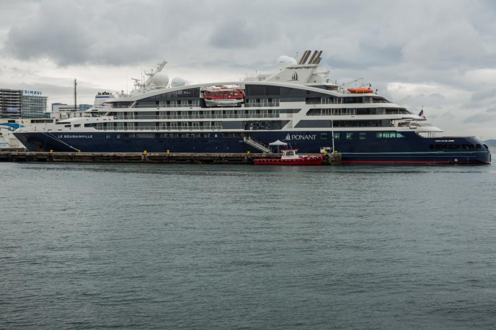 Lüks kruvaziyer İstanbul'da Zeyport Limanı'na demirledi - Resim: 4