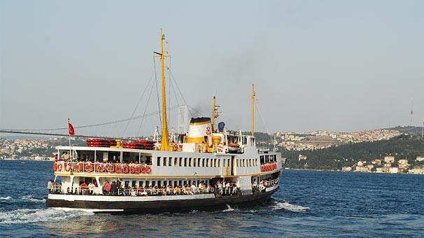 İstanbul'da vapur seferlerine yarış engeli