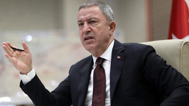 Bakan Akar: 34 bin YPG'li terörist çekildi