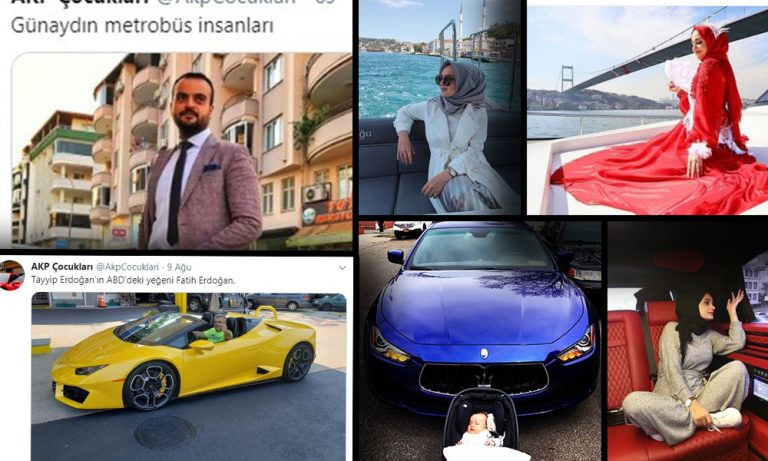 AK Partililerin ''şatafatlı'' lüks hayatları Twitter'da ifşa oldu