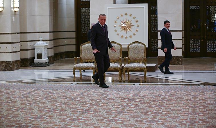 Cumhurbaşkanı Erdoğan'dan halı tanıtımı