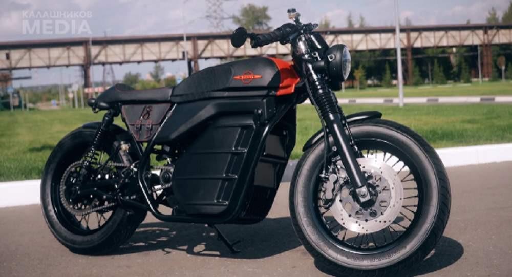Kalaşnikov, elektrikli motosiklet üretti
