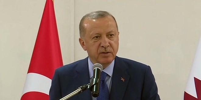 Erdoğan: ''İstihbarata gerek yok, Muharrem Bey yeter''