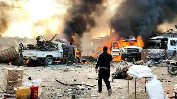 YPG bomba yüklü araçla saldırdı: Çok sayıda ölü ve yaralılar var