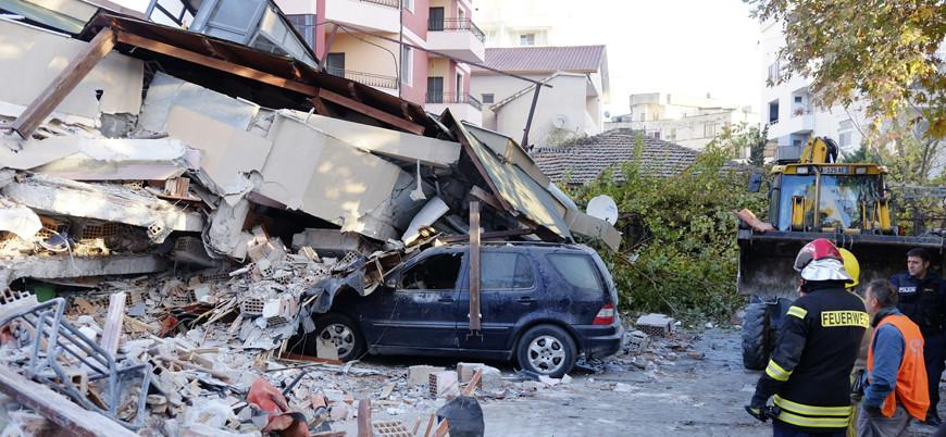 Depremin vurduğu Arnavutluk'tan bir acı haber daha
