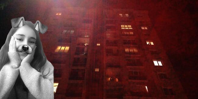 Liseli Rabia 11. kattan düşerek öldü