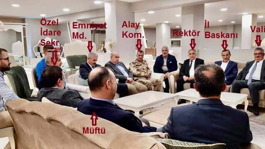 Devletten AK Parti İl Başkanına toplu ziyaret !
