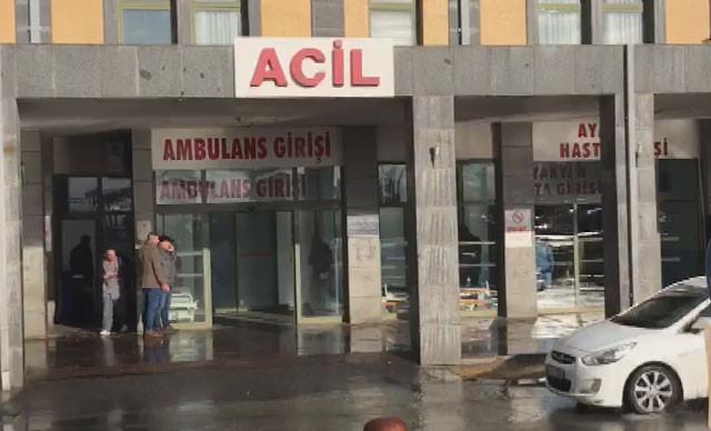 İstanbul'da hastanede bıçaklı saldırgan dehşeti