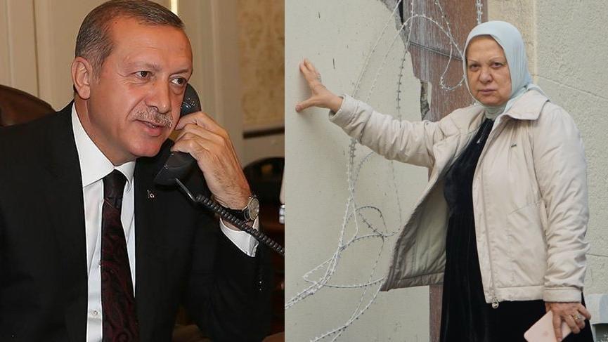 Erdoğan'dan Ahsen Unakıtan'a telefon