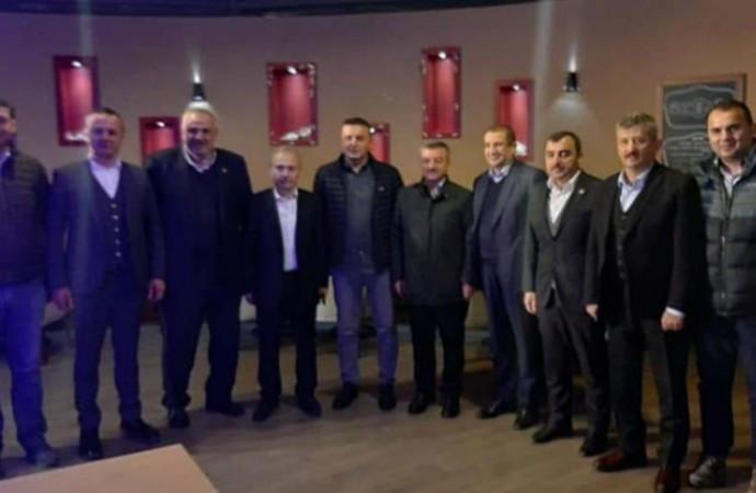Cumhuriyet Başsavcısı AK Partililerle yemekte