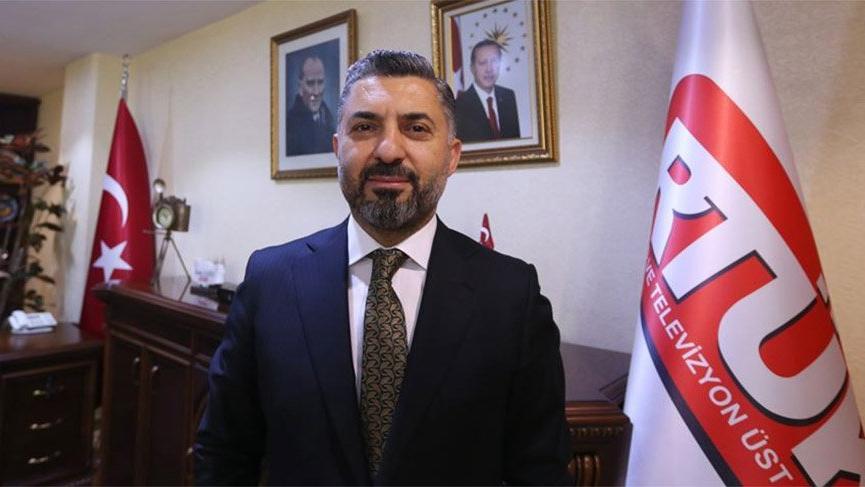 RTÜK Başkanı Ebubekir Şahin TÜRKSAT'tan istifa etti