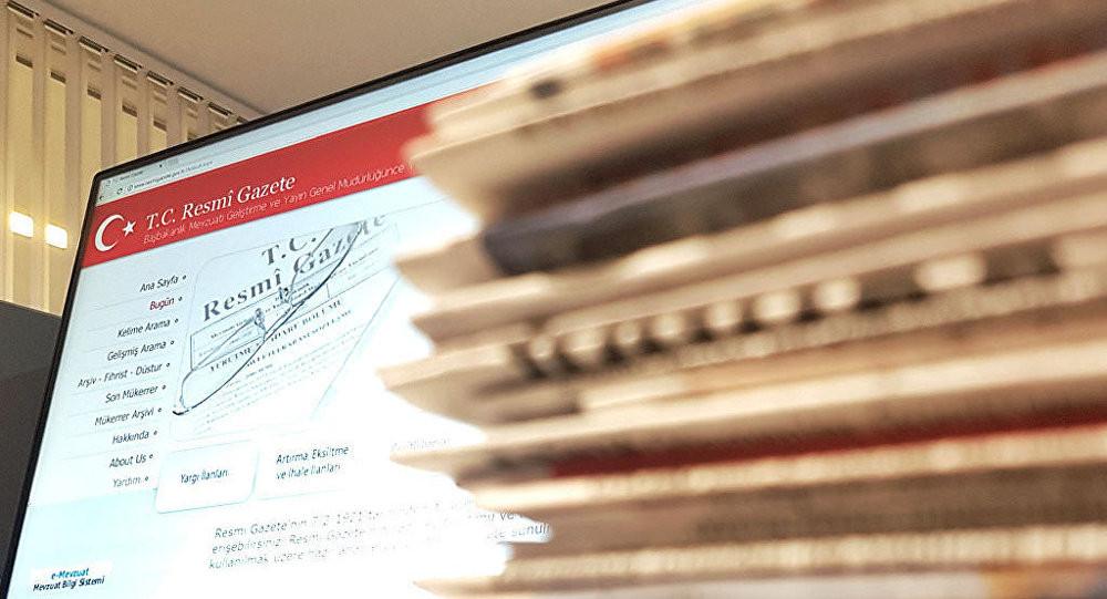 4 bakanlığa ait atama kararları Resmi Gazete'de