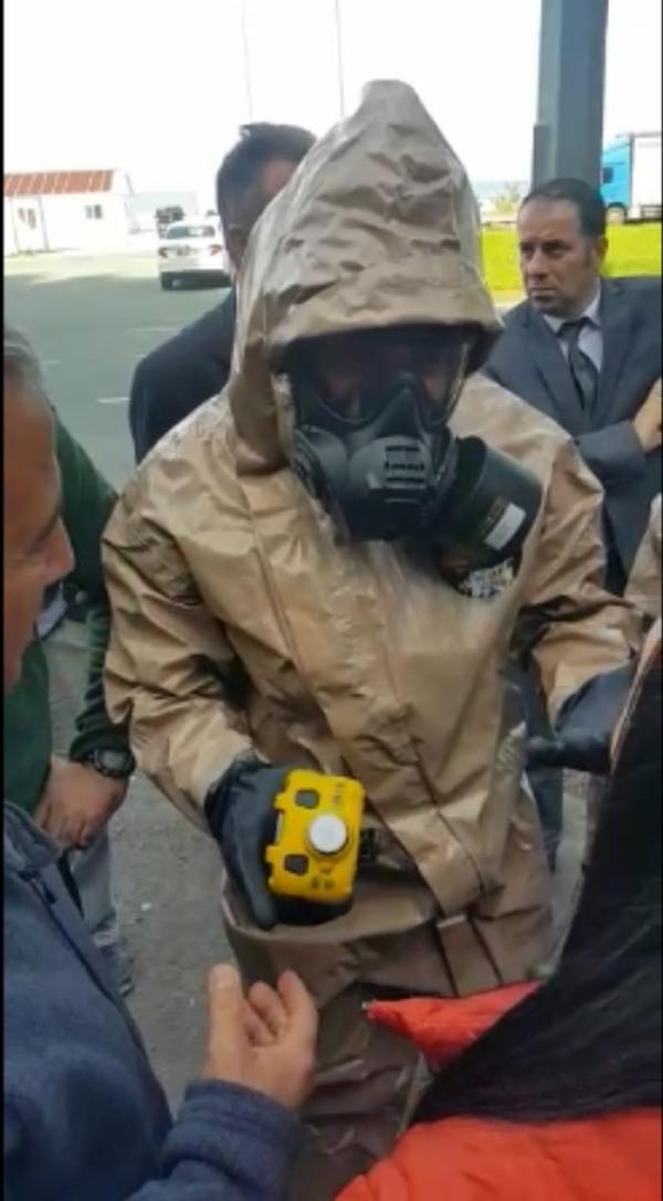 Rize'de AFAD ekiplerini alarma geçiren olay !