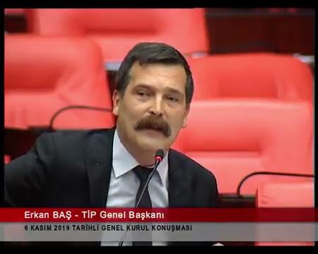 Erkan Baş: ''Yoksulluktan canına kıyan insanları olan bir ülke yarattınız''