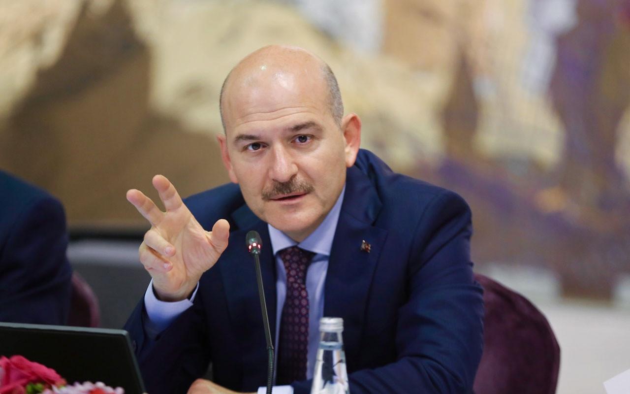 Süleyman Soylu Türkiye'de bulunan yabancıların sayısını açıkladı