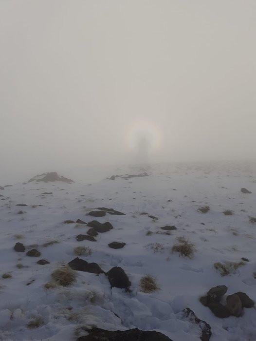 Nemrut Dağı'nda gizemli olay böyle fotoğraflandı - Resim: 2