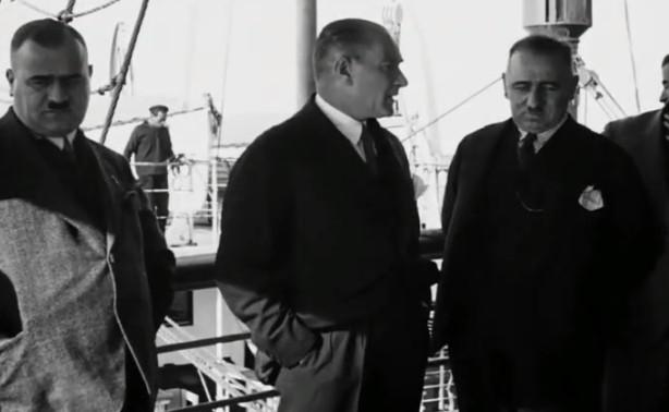 Bakan Atatürk'ün daha önce yayınlanmayan görüntülerini paylaştı