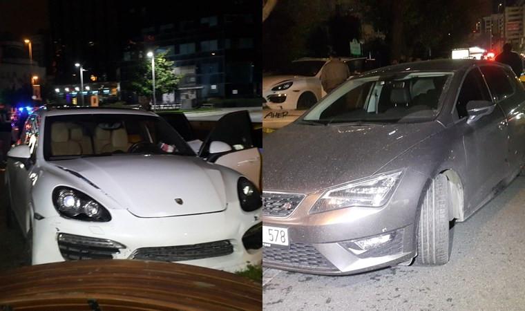 Cip ve otomobil kurşun yağmuruna tutuldu: 1 ağır yaralı