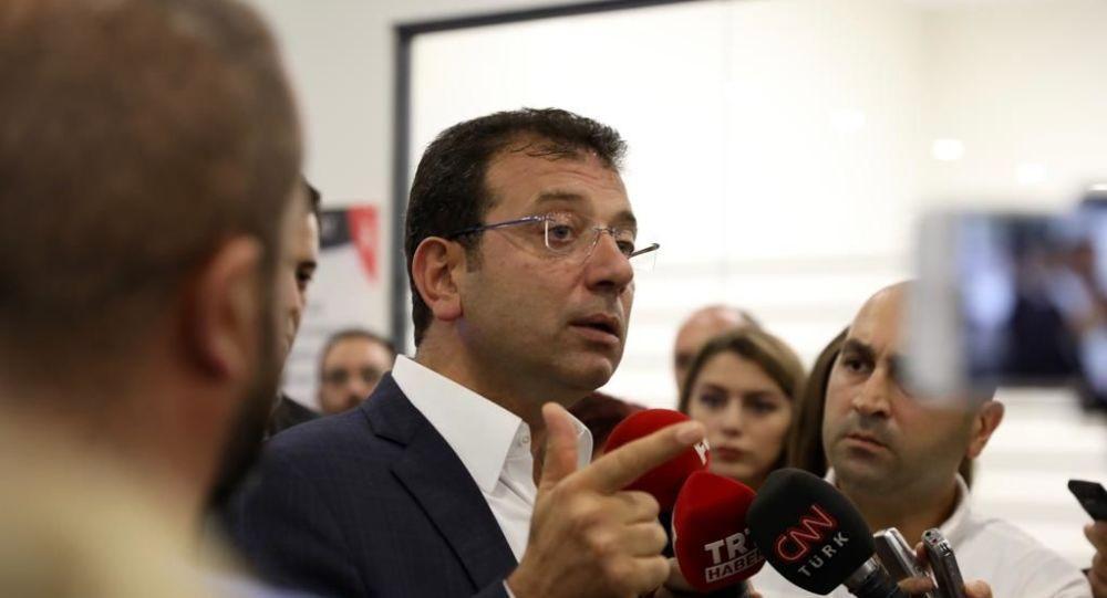 İmamoğlu: ''Kanal İstanbul dayatmadır, beni kimse ikna edemez''
