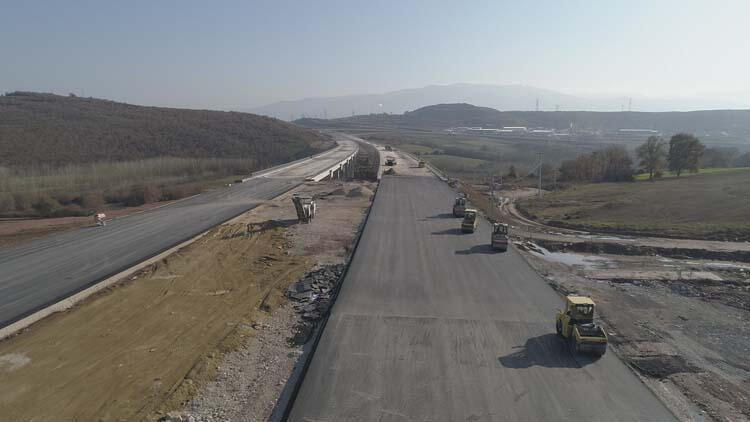 Kuzey Marmara Otoyolu'nun son hali görüntülendi