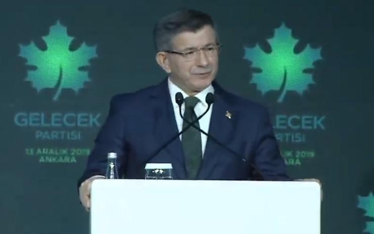 Davutoğlu'nun bugün resmen tanıttığı Gelecek Partisi'nin belediyesi oldu!
