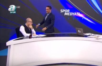 Spor yorumcusu Haldun Domaç canlı yayında fenalaştı