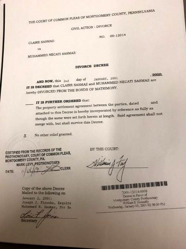Necati Şaşmaz'dan ''Amerikalı bir kadınla evli'' iddiasına jet yanıt