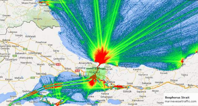 Boğazdan geçen gemi sayısı 8 kat arttı iddiası yalan çıktı!
