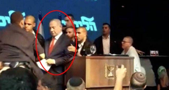 Netanyahu'nun roket paniği ! Sirenler çaldı, apar topar kaçtı