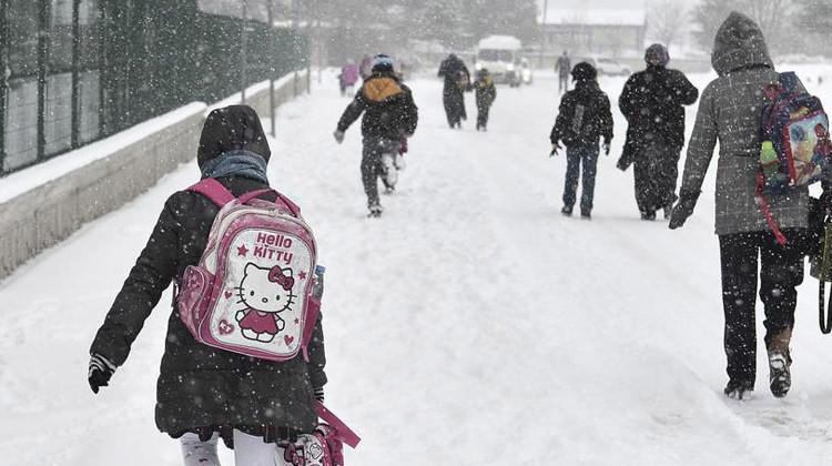 Eğitime kar engeli ! 5 ilde okullar tatil edildi