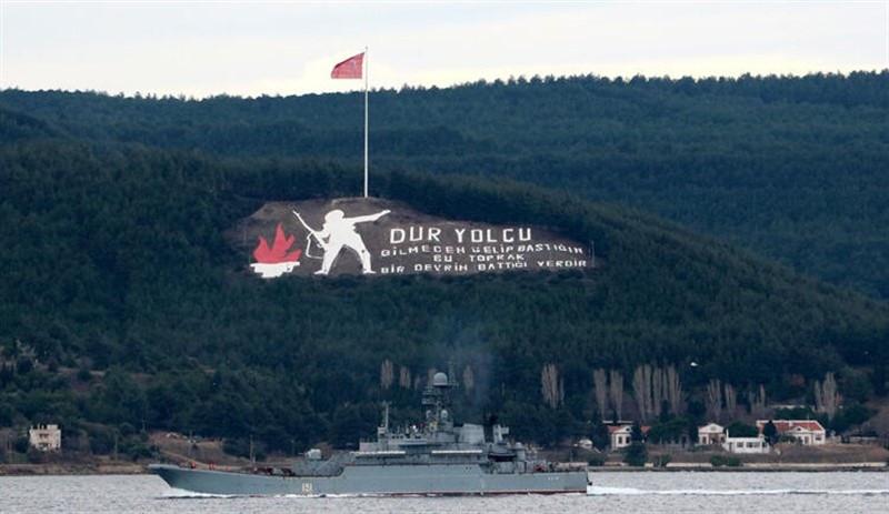 Rus savaş gemisi Akdeniz'e iniyor